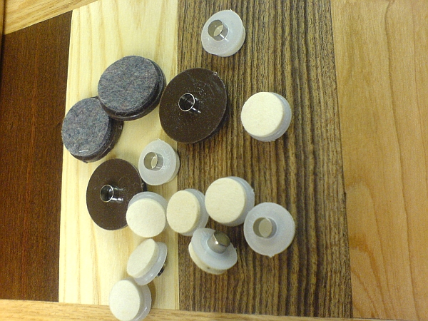 Wood Floor protectors are recommended to take care of your hardwood floor by Ray Case Floors, Rochester, NY