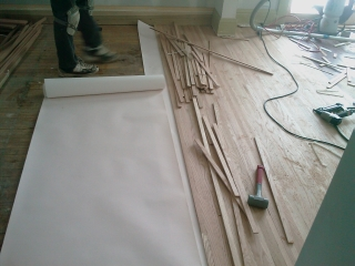 Flooring Installation of hardwood floors by Ray Case Floors in Rochester, NY